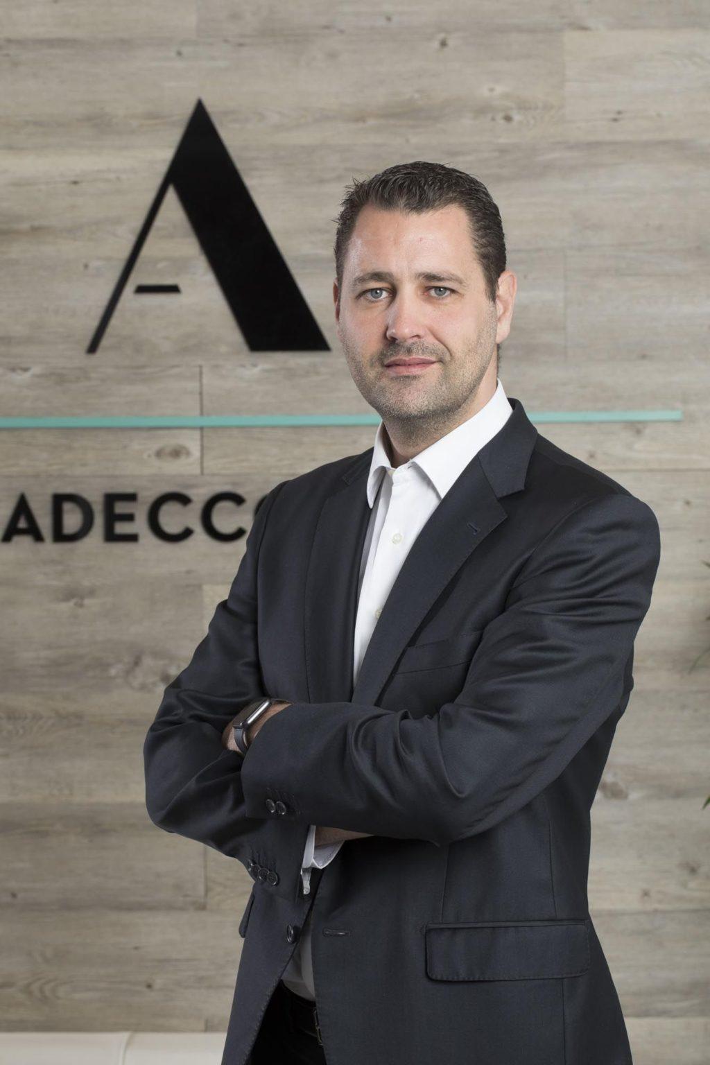 Foto de Rubén Castro, nuevo Director de Adecco Staffing en España