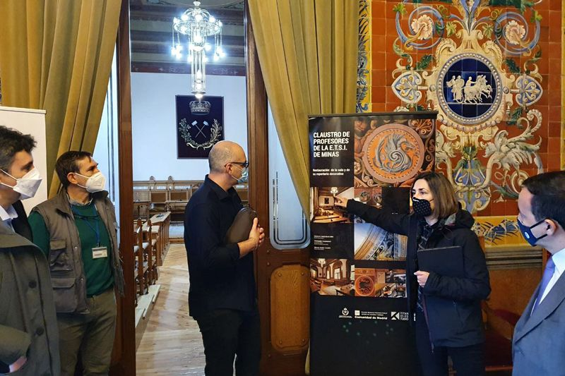 Foto de Visita técnica del equipo de la Dirección General de
