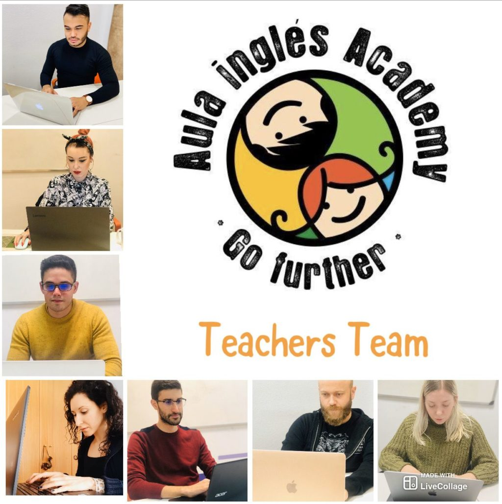 Foto de Equipo de profesores de Aula inglés Academy