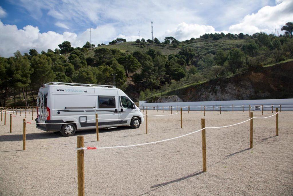 Foto de Nueva Área de Autocaravanas en Canillas de Albaida, Málaga