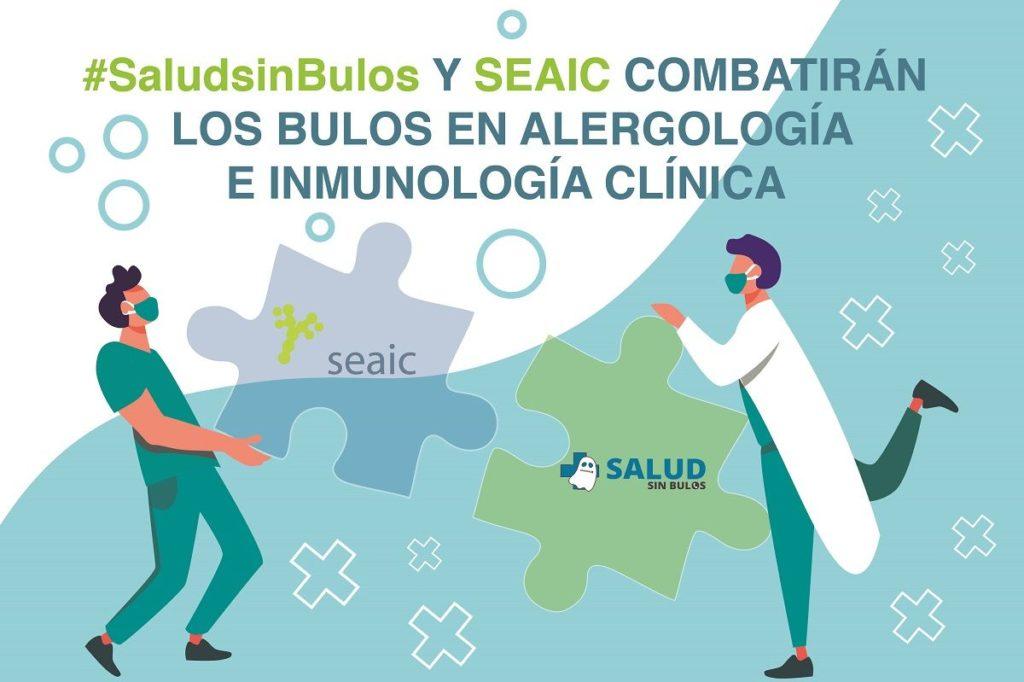 Foto de #SaludsinBulos y SEAIC combatirán los bulos en alergología